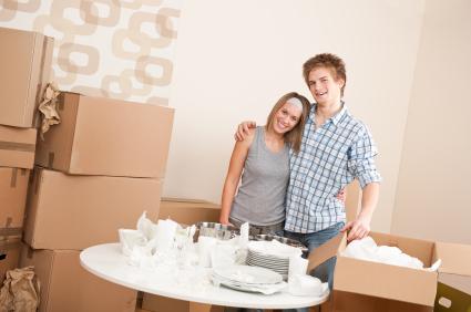 Eigene Wohnung: Familie und Freunde