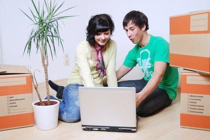 Wohnungssuche im Internet