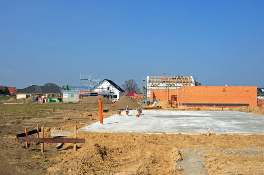 Baustelle Haus