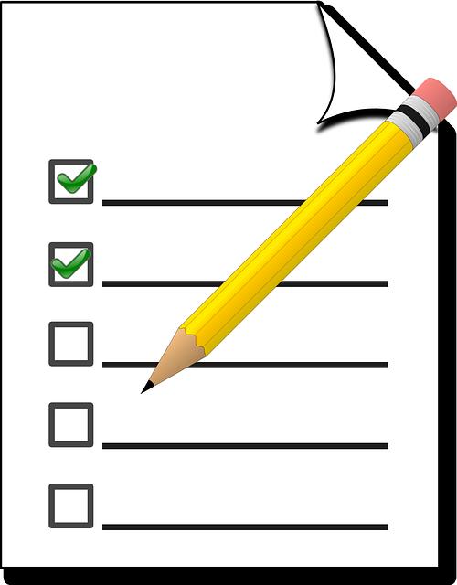 checkliste erste Wohnung