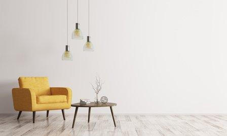 Erste Wohnung mit Design-Lampen aufstylen